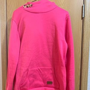 Sweaters - Hot Pink Hooded XXL Sweatshirt